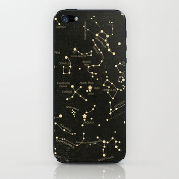 Ancient Constellations iPhone & iPod Skin by Terry Fan