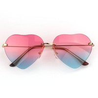 Meily(TM) Funny Girl 's Lolita Heart Shaped Sunglass