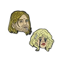 Kurt & Courtney Pin Pack