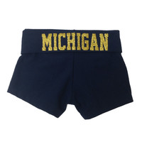 The M Den - Bear Affair University of Michigan Gymnastics Adult Fold Ove