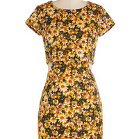 ModCloth Vintage Inspired Mid-length Short Sleeves
