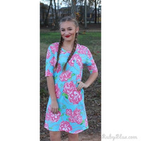 Simply Southern Floral Dress