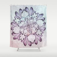 Floral abstract . Shower Curtain by VanessaGF | Society6