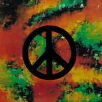 Peace Sign Poster Flag Psychedelic Logo Tapestry