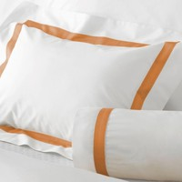 Lowell Tangerine Bedding by Matouk
