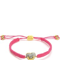 Pave Heart Friendship Bracelet by Juicy Couture, O/S