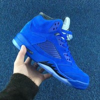 DCCK Air Jordan 5 Retro 'Royal Blue'