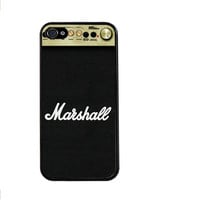 Marshall Amplification Amp Music Sound Drums Bongos Plastic Hard Cover Case for iphone 4/4s/5/5s/5c/6/6plus