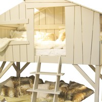 Childrens Treehouse Bed   Lighting, nightlights and kids lamps, childrens interiors, bedrooms and christening gifts for babies