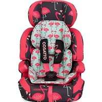 Zoomi Number 123 Car Seat - Flamingo Fling