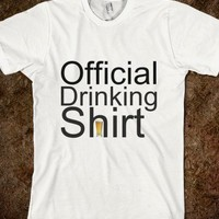 official drinking shirt - Cash Cow