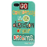 Words Hard Case for iPhone 4 4S