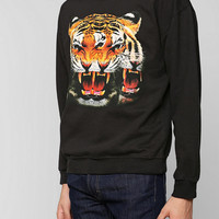Tiger Head Pullover Sweatshirt - Urban Outfitters