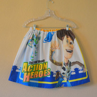 Toy Story Skirt - Woody and Buzz Lightyear