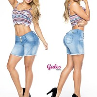 100%  Authentic Colombian  Push Up short  12512  by Gales
