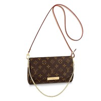 LLVV Women's Monogram canvas Favorite handbags