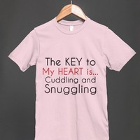 Key to My Heart - Cuddling and Snuggling