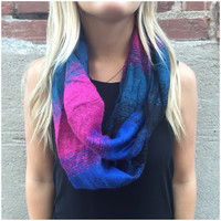 Type A Ombre Infinity Scarf - Type A Ombre Infinity Scarf