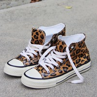 Sweet Leopard Sneakers