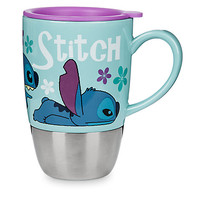 Stitch Ceramic Travel Mug | Disney Store