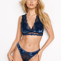 Crushed Velvet Plunge Bralette - Dream Angels - Victoria's Secret