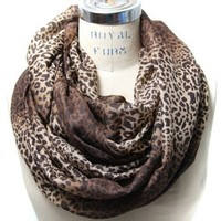 Scarfand's Animal Print Infinity Scarves