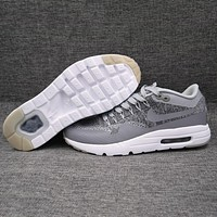 Trendsetter  Nike Air Max 1 Ultra Flyknit   Women Men Fashion Casual Sneakers Sport Shoes