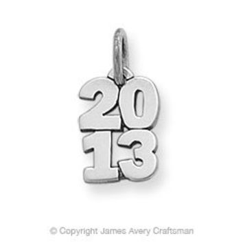 Year 2013 Charm from James Avery