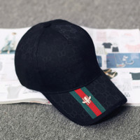 GUCCI Women Men Embroidery Sports Sun Hat Baseball Cap Hat