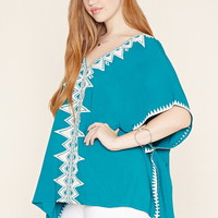 Plus Size Poncho Top | Forever 21 PLUS - 2000171145