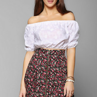 Pins And Needles Zip-Front Mini Skirt - Urban Outfitters