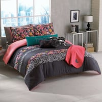 Roxy Samantha Twin/Twin Extra Long Floral Bed Set