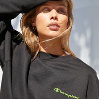 Champion + UO Neon Crew-Neck Sweatshirt | Urban Outfitters