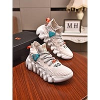 Y3  Men Fashion Boots fashionable Casual leather Breathable Sneakers Running Shoes