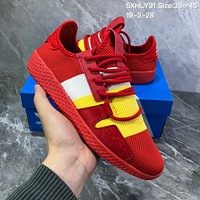 HCXX A762 Adidas Solar HU Tennis V2 Casual Shoes Red Yellow