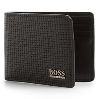 Men's BOSS 'Raf' Leather Bifold Wallet