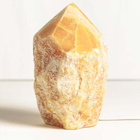 Orange Calcite Point Lamp