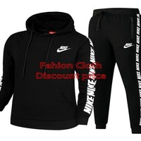 Nike Sweater Unisex Sport Casual Style Clothing S-3XL 91968 Black