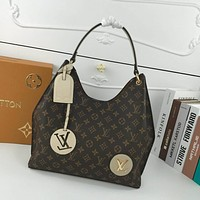 lv louis vuitton womens leather shoulder bag satchel tote bags crossbody 506