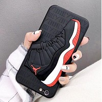 NIKE Jordan New fashion people shoes couple protective cover phone case