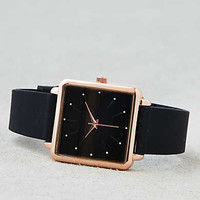 AEO Square Face Rubber Watch , Black