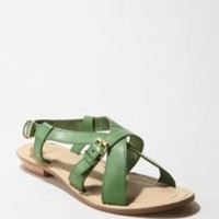 UrbanOutfitters.com > Cooperative Leather Cross Strap Sandal