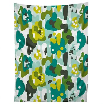Heather Dutton Painted Camo Tapestry