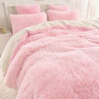 Super Warm and Soft Winter ComfortableThickening Coral Fleece Sherpa Mink Cashmere Bedding 4pcs Bed Skirt  Fitted Bed Cover