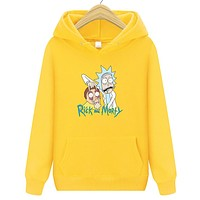 hoodies men rick and morty Sweatshirts men groot Men Fashion lil peep Harajuku streetwear Liverpool Winter jacket 2018 new