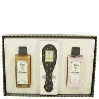 Juicy Crittoure by Juicy Couture Gift Set -- 8 oz  Shampoo + 8 oz Conditioner + Dog Brush