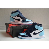 "Air Jordan 1 Retro High OG ""Blue Chill"" UNC"