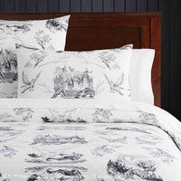 HARRY POTTER™ Etched Scenes Duvet Cover + Sham