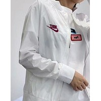 Nike Outdoor Women Men Sun Protection Clothing Against UV Light Breathable Sports Windbreaker I-AA-XDD