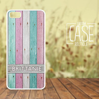 Personalized iPhone 4 / 4s or iPhone 5 Case - Plastic iPhone case - Rubber iPhone case - Name iPhone case - CB002